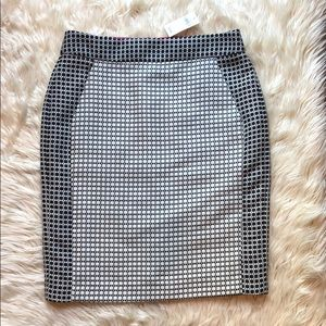 Banana Republic NWT pattern pencil skirt
